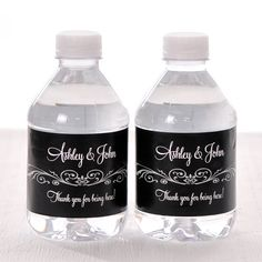 50 Wedding Water Bottle Labels  Waterproof Self Stick by LabelsRus, $29.95