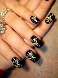 Stylish New Look  Nail Art Designs Ideas