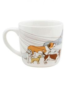 Dog Walker Mug | Whether you want something with a sense of humor or just a pretty addition to her kitchen décor, there's something for every mom (or aunt or grandmother) in your life.