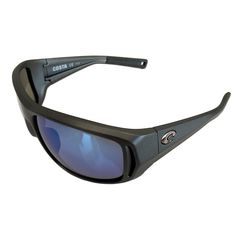 6d72fc8eaa0a6 Costa Del Mar Montauk Sunglasses – Matte Steel Gray – Polarized Blue Mirror  400G