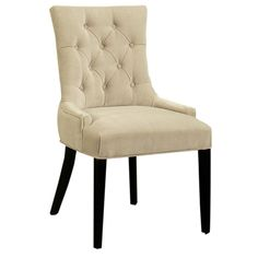 I pinned this Franklin Tufted Dining Chair from the Abbyson Living event at Joss and Main!