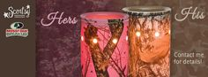 His & Hers Mossy Oak Banner ScentsbyKris.scentsy.us