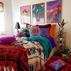 bohemian bedroom 416231190563882808 - 22 Dreamy Boho Bedroom Design Ideas Source by Bohemian Bedroom Design, Boho Room, Bohemian Interior, Bohemian Decor, Bedroom Designs, Bohemian Bedrooms, Bedroom Ideas, Bohemian Fashion, Hippy Bedroom