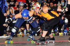 2012 WFTDA Championships: Bout 1: Denver Roller Dolls (#2W) vs Charm City Roller Girls (#3E)
