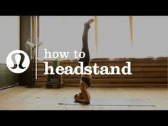 Lululemon teaches you how to do a yogi headstand