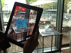 architecture in augmented reality with urbasee - designboom | architecture & design magazine