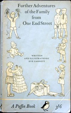 More Adventures of The Family From One End Street by Eve Garnett Old Children's Books, Books To Read, My Books, Vintage Book Covers, Vintage Children's Books, Childhood Toys, Childhood Memories, Milly And Molly, Children's Book Illustration