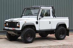 Land Rover Defender Pickup, Landrover Defender, Defender 90 For Sale, 4x4, Used Land Rover, Cars Land, Jaguar Land Rover, Road Trip Adventure, Mode Of Transport