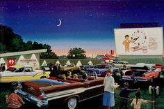 Do you remember the days of the drive-in theater?