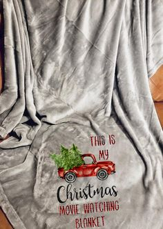 This is My Favorite Christmas Movie Watching Blanket Quilt Christmas Velvet Plush Sherpa Fleece Blanket A, 51x59inches 3D Printed Blanket Hallmark Christmas Movie Watching Blanket Quilt