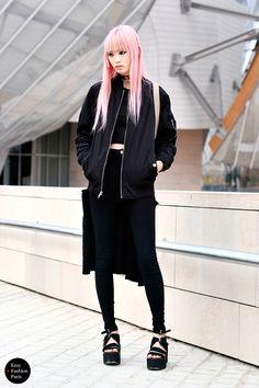 Fernanda Hin Lin Ly | At Louis Vuitton, Paris FW 2015