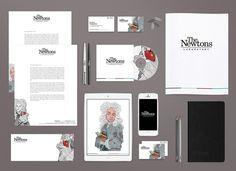 The Newtons illustrations | Δάμος Σταύρος