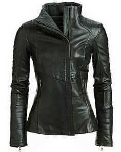 Arra Womens Leather Jacket
