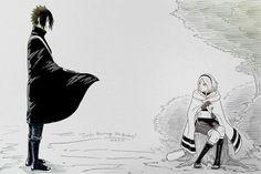 Sasusaku Sasuke and Sakura\\. Naruto Kakashi, Anime Naruto, Madara Uchiha, Sasuke Shippuden, Naruto Art, Sasuke Sakura Sarada, Naruto Sasuke Sakura, Akatsuki, Chibi
