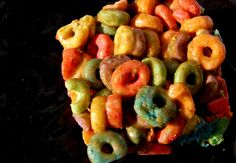A favorite treat... junk cereal medible