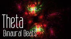 Theta Binaural Beats with Fractal Animation