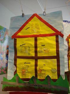 Knutselen 2d: huis