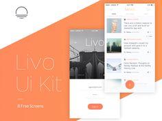 Livo Sample UI Kit