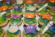 Dora Cupcakes by creative and delicious sweets (Sandy), via Flickr