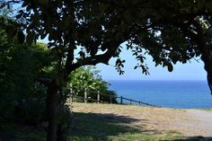 Una ventana al horizonte. Candás. Asturias.