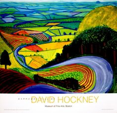 Garrowby Hill Print by David Hockney. Poster from AllPosters.com, $64.99.