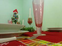 Decorando a mesa para a ceia de Natal - Casinha Arrumada