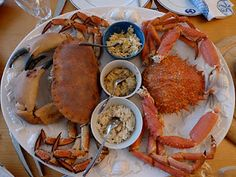 A Trifle Rushed: Crab and Spider Crab - New Year's Day Lunch in Brittany