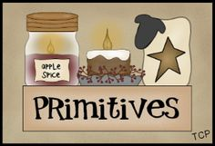 free primitive clip art   Twin Creek Primitives: Primitive Graphics