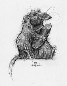"""theanimationarchive: """"Character design and concept art from Disney-Pixar's Ratatouille. Artwork by Carter Goodrich. Art Disney, Disney Concept Art, Disney Pixar, Character Design References, Character Art, Drawing Sketches, Drawings, Illustration Vector, Hamster"""