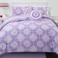 Shop for Lavender Medallion Reversible 5-piece Comforter Set. Get free delivery…