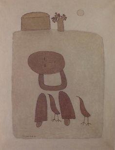 """백영수 """"새"""" Bird 1979 [90.9x72.7]"""