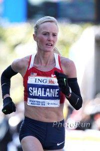 Shalane Flanagan. Pure determination. Olympic trials was her second marathon.. wha??