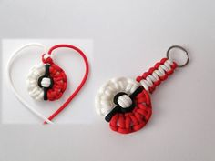 """As we released pokeball paracord bracelet,our passion to POKEMONS has grown even higher. That's why we made for you""""pokeball necklace and keychain"""" You need ..."""