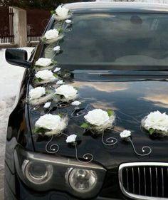 Arreglo de carro de boda