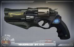 Image result for futuristic revolver