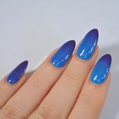 Colour-changing polish from Madam Glam - heat activated gel polish. So fun!
