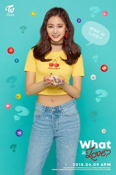 "TWICE - 5th Mini Album ""What is Love?"" #Tzuyu"