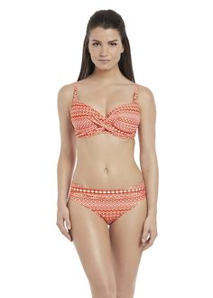 d393a6c6eddb0 Size - The wrap front underwired style bikini top is superbly flattering to  all bust shapes with its fuller coverage giving you great support shape and  ...