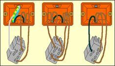 577 fantastiche immagini su elettrico nel 2019 electrical wiring electrical engineering e - Punto luce interrotto ...