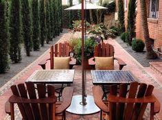 A Hotel Life » Palihouse - courtyard