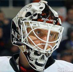 NHL Goalie Masks By Team | ... Calgary Flames - NHL Goalie Masks by Team (2011-12) - Photos - SI.com