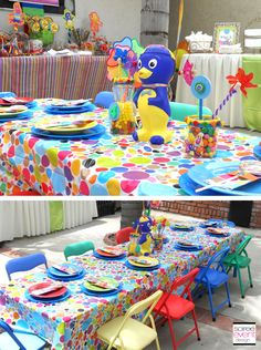Backyardigans birthday party ideas party planning print for Backyardigans party decoration