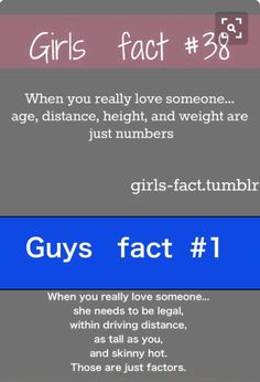 This is true......guys r so ridiculous