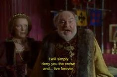 5/11/16 2:56a 20th Century Fox ''Ever After: A Cinderella Story'' Timothy West as King Francis ''I Will Simply Deny You The Crown and...Live Forever'' Message to his Son Henry corrieamattina.com