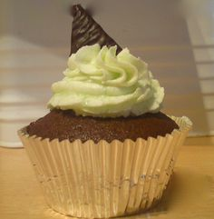 Recept After Eight cupcakes
