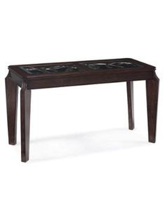 Shop Ombrio Casual Cherry Wood Glass Rectangular Sofa Table with great price, The Classy Home Furniture has the best selection of to choose from Sofa Tables, Wood Glass, Hardwood, Cherry, Coffee, Casual, Modern, Furniture, Home Decor