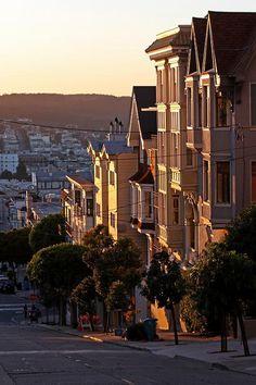 Victorian Houses - San Francisco - USA