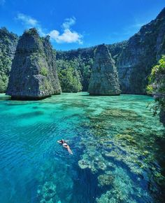 20 places where there is just… nature! Balbulol, Misool, West Papua — Photography by Marischka Prudence Places To Travel, Places To See, Travel Destinations, Travel Pics, Travel Quotes, West Papua, Vacation Spots, Beautiful Landscapes, Strand