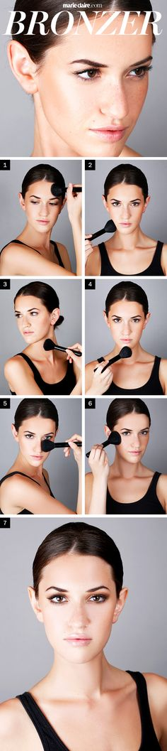 Makeup How-To: Apply Bronzer Like a Pro | MarieClaire.com