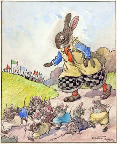BUNNY CAPTURES THE ENEMY'S GUNS by ERNEST ARIS